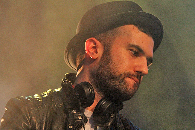 A-Trak Photo by: Miles Overn copyright 2011