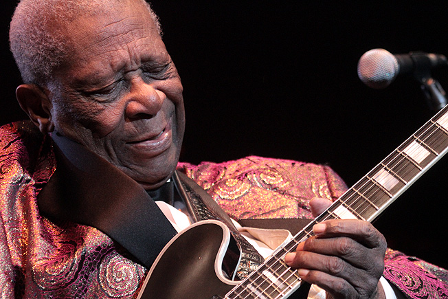 BB King Photo by: Miles Overn copyright (c) 2012