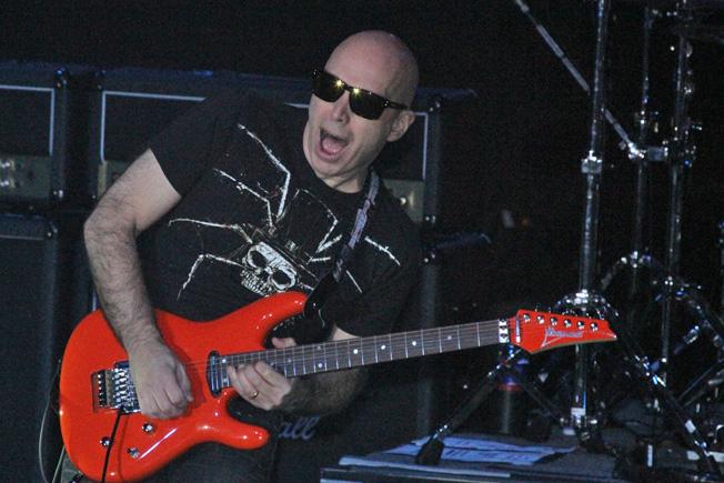 Joe Satriani Photo by: Miles Overn copyright 2011