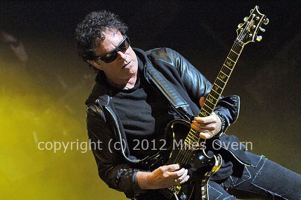 Neal Schon Photo by: Miles Overn (c) copyright 2012