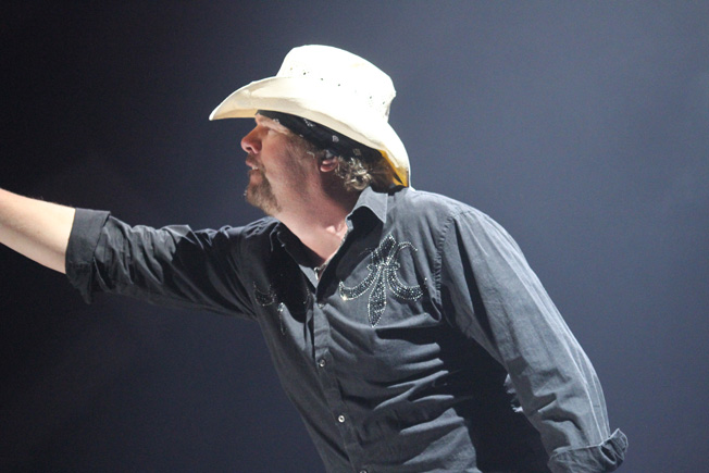 Toby Keith Photo by: Miles Overn copyright 2011
